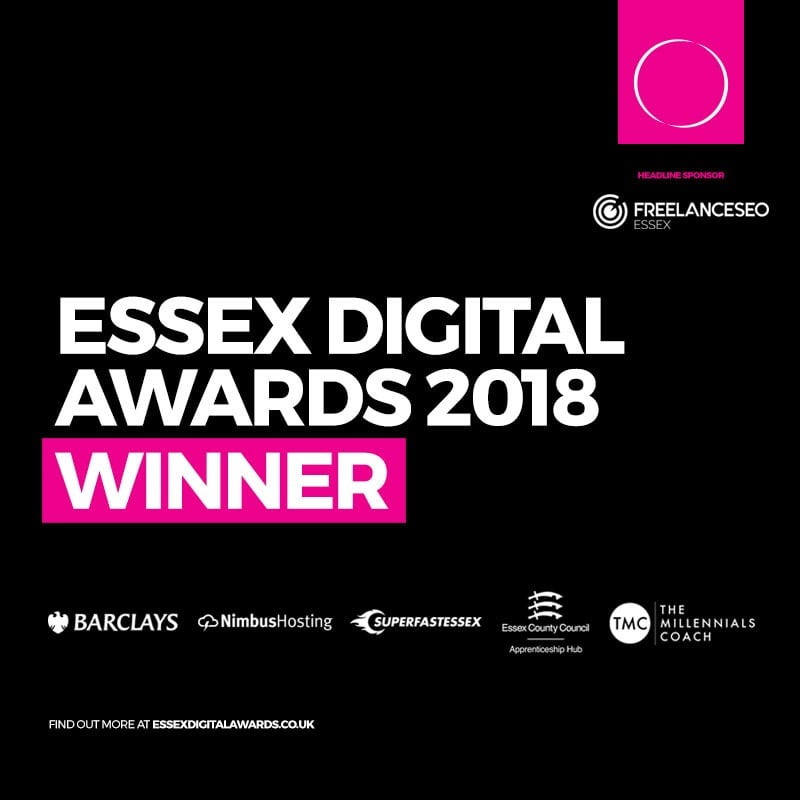 Essex Digital Awards Winner 2018 Badge