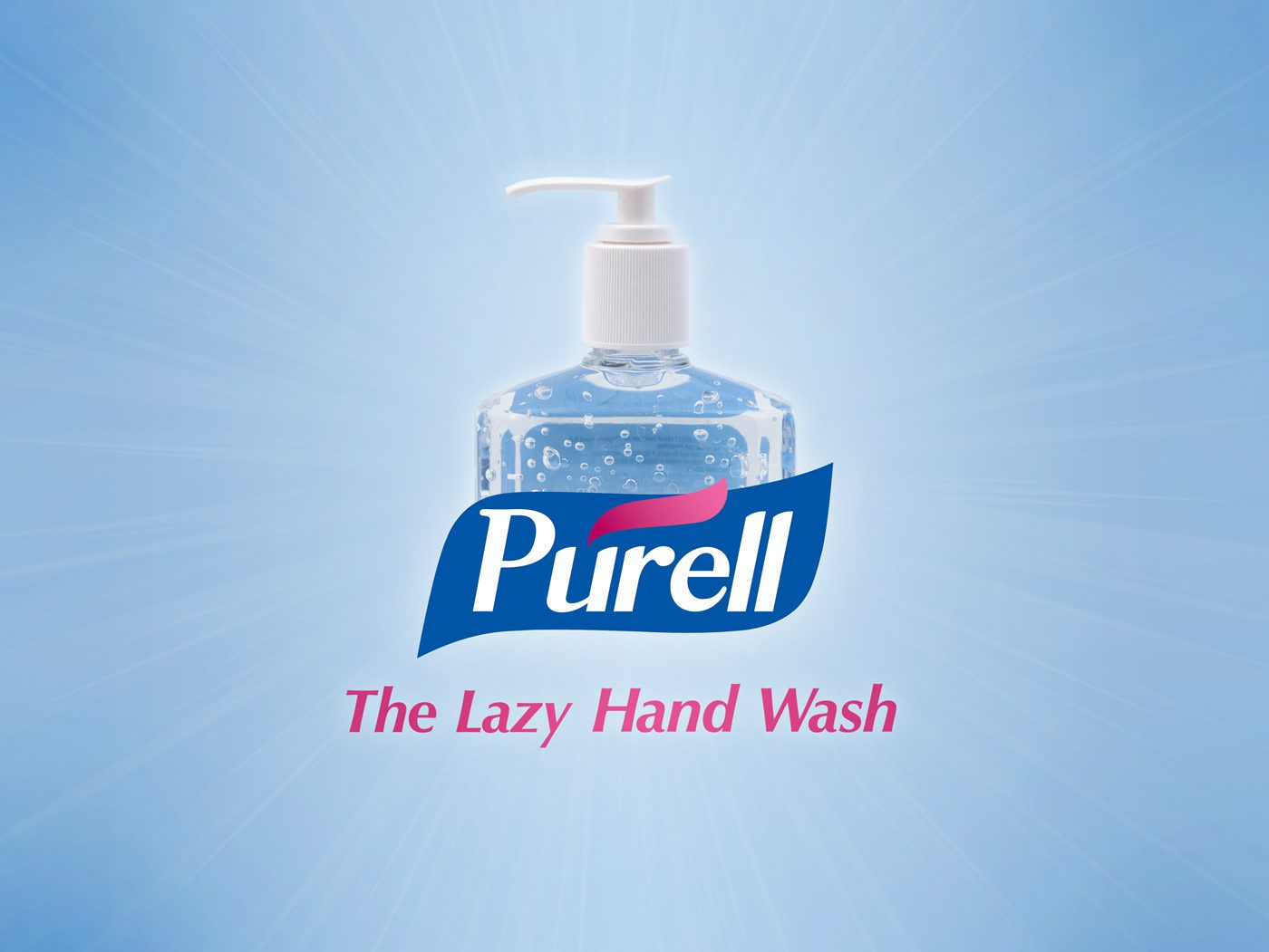 Purell - The Lazy Hand Wash