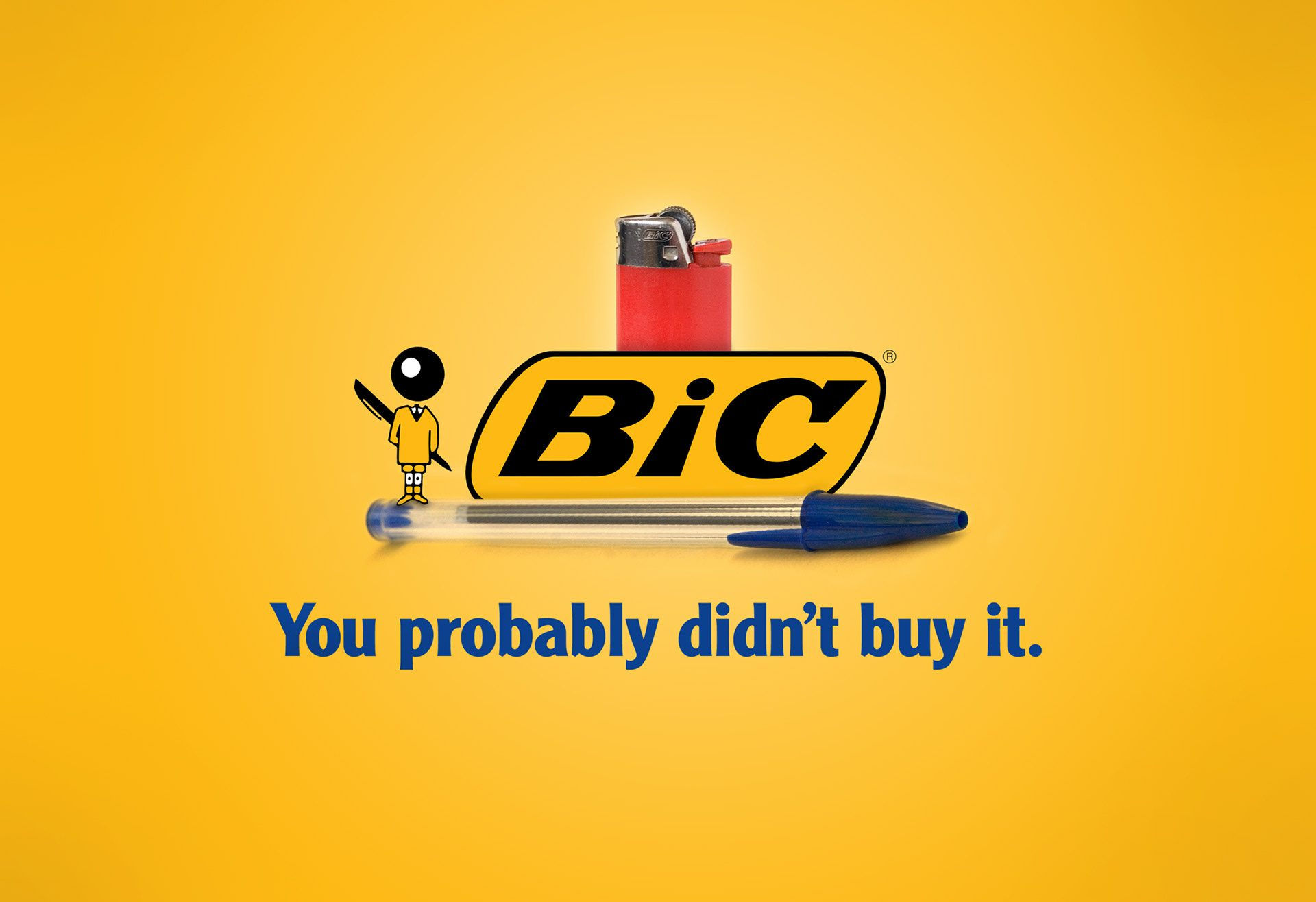 bic - you probably didn't buy it