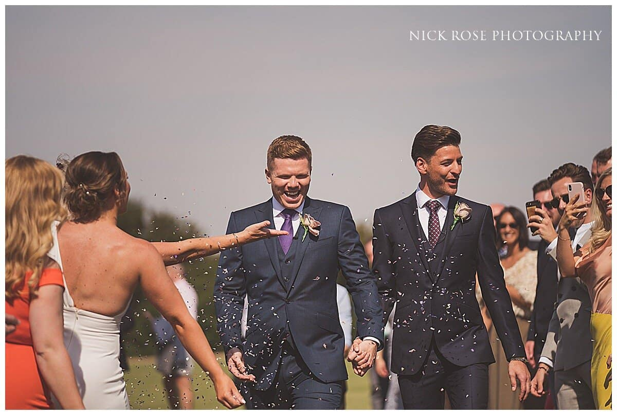 The Wedding of Gareth and Tom – Essex