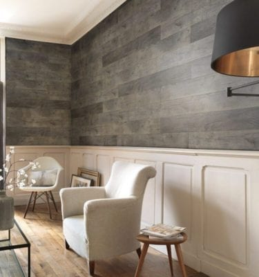 Megeve Grey PVC Wall Cladding