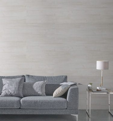 Beige Planed Wood Effect PVC Wall Panel