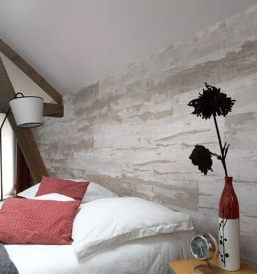 White Rustic PVC Wall Panels