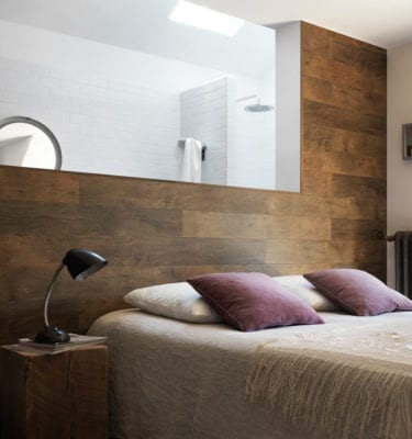 Megeve Brown Bedroom