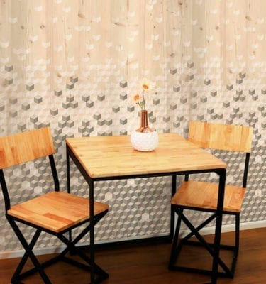 Pixel Wood Effect PVC Wall Cladding