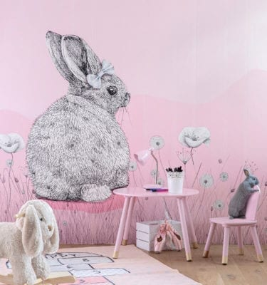 Kids Pink Ice Field - Wall Panels