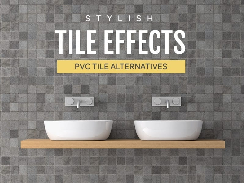 Tile Effect PVC Wall Panels
