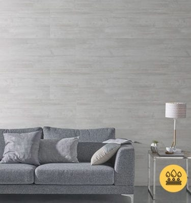 GREY PLANED WOOD EFFECT PVC PANEL