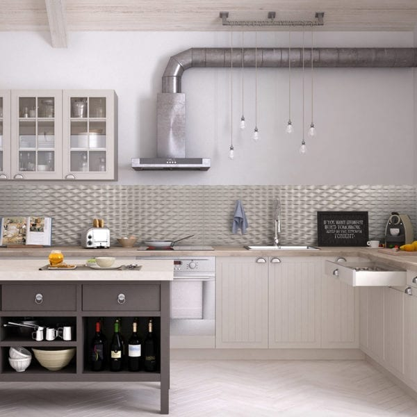 Lattice BackSplash Nickel