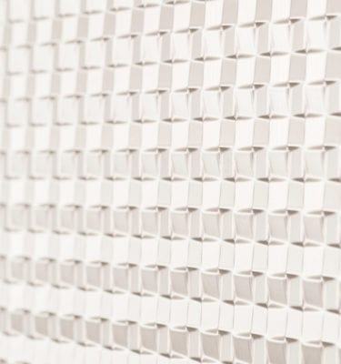 Quadrate BackSplash White