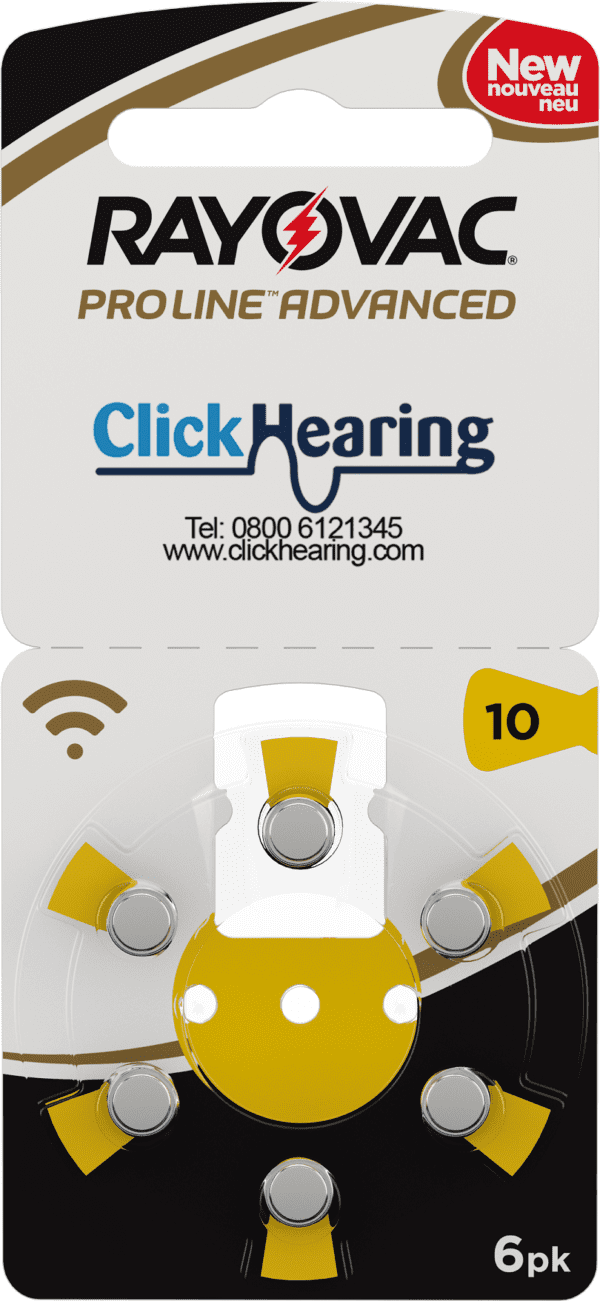 Click Hearing Hearing Aid Battery