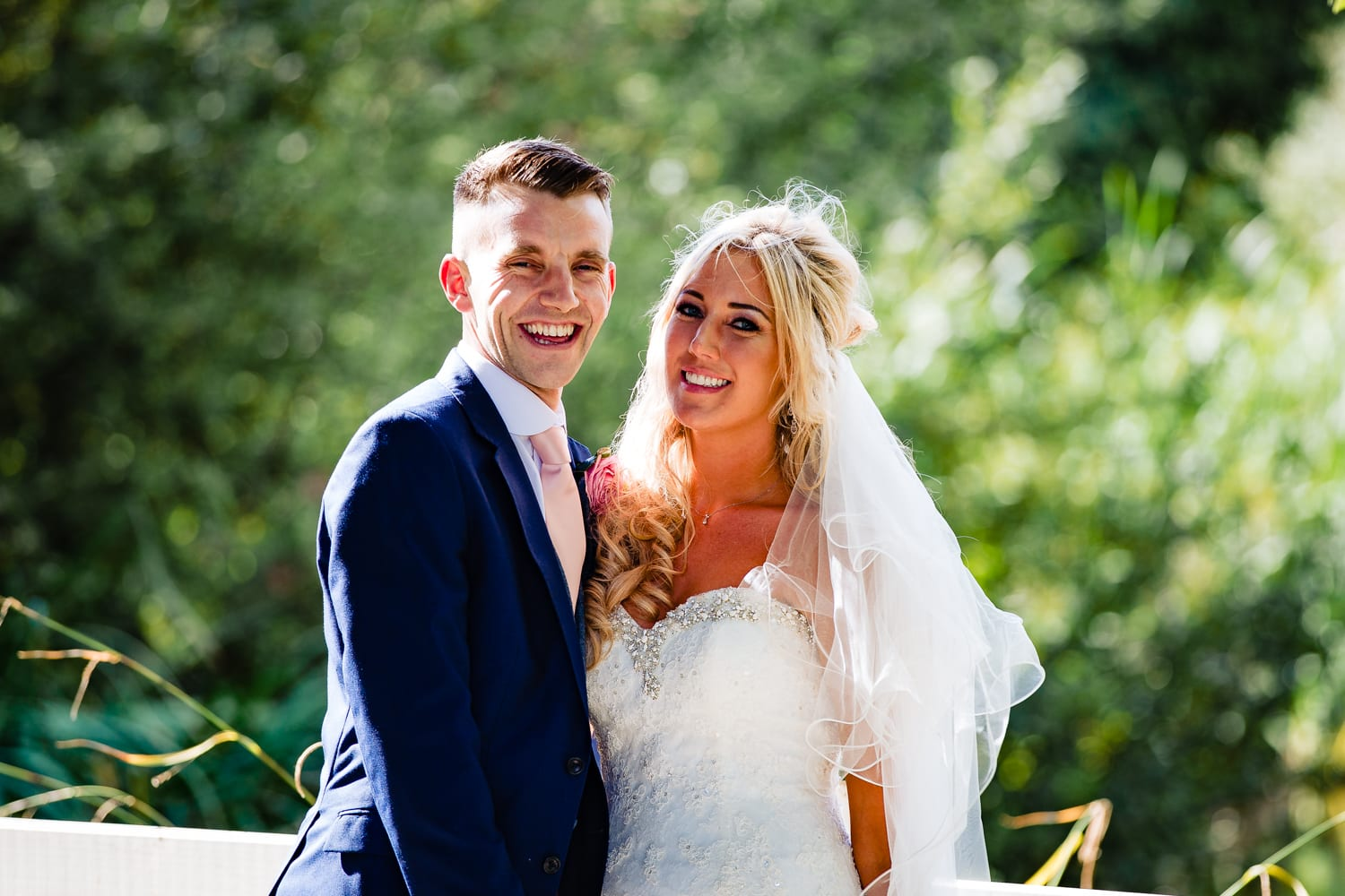 bride and groom portrait -wedding photography Essex