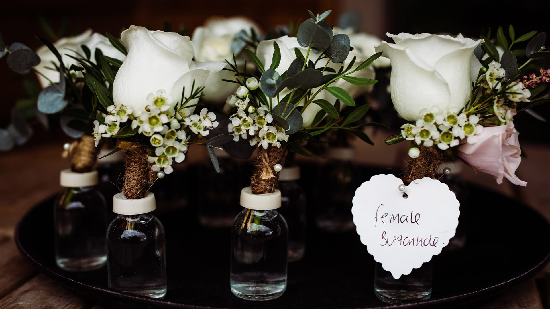 Wedding Photographer Chelmsford - Table Flower Decorations
