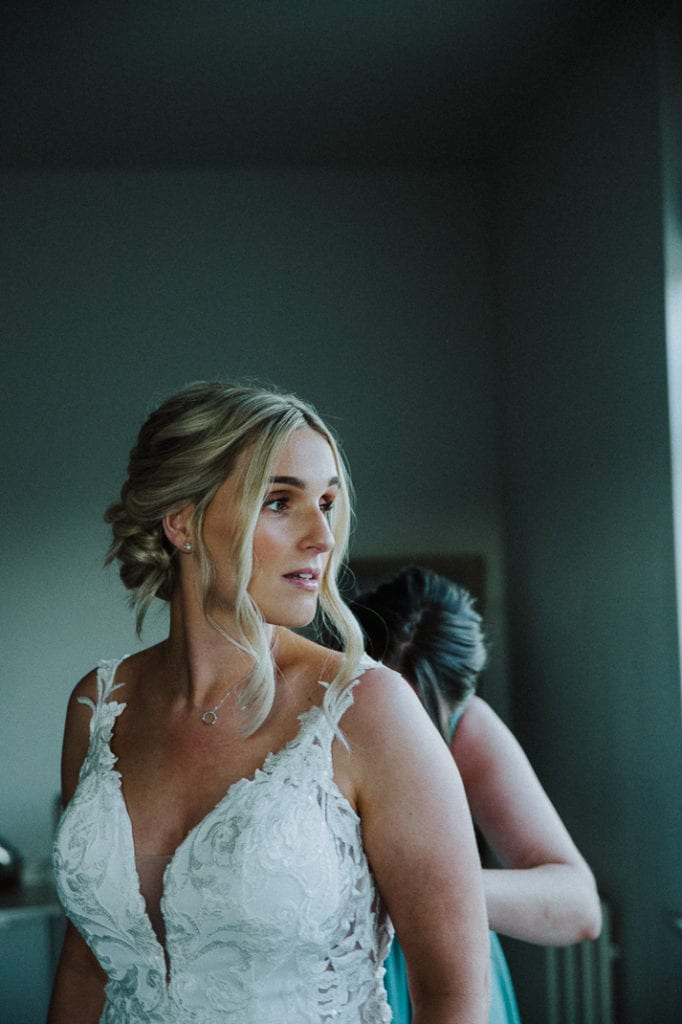 bride getting ready at That Amazing Place