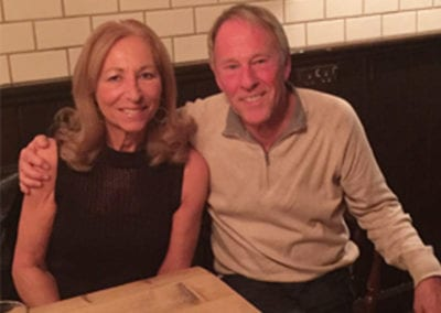 Lorraine with Tony Reeves 2016