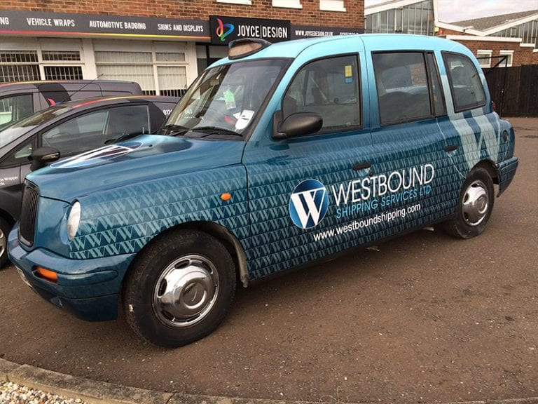 Taxi Vehicle Wrap